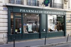 Pharmacie - English: Pharmacie F. Cotinat, 151 rue de Grenelle, Paris, France.
