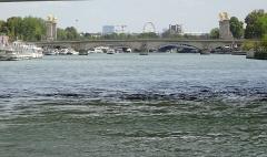 Pont Alexandre III - Français:   Pont Alexandre III dans le 8e arrondissement de Paris en France.