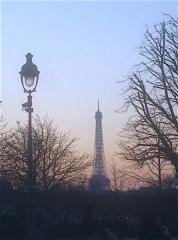 Tour Eiffel - English: Eiffel Tower at dust 1