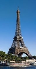 Tour Eiffel - English: A view of the Eiffel Tower, across the Seine, from Avenue de New-York.
