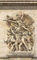 Arc de Triomphe de l'Etoile - Français:   \