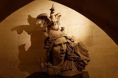 Arc de Triomphe de l'Etoile -  Vue de l'Arc de Triomphe de l'étoile.