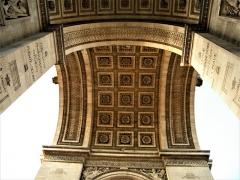 Arc de Triomphe de l'Etoile - English: Paris, France. ARC de TRIOMPHE de l'Etoile. (PA00088804) (detaliu 11)