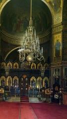 Cathédrale orthodoxe Saint-Alexandre-Nevsky - Français:   La cathédrale Saint-Alexandre-Nevsky est une église orthodoxe russe située à Paris, rue Daru (8e arrondissement).