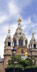 Cathédrale orthodoxe Saint-Alexandre-Nevsky - English: Saint Alexander Nevsky orthodox Cathedral located in the 8th arrondissement of Paris, France.