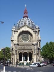 Eglise Saint-Augustin - Français:   Église Saint-Augustin (Classé)