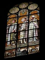 Eglise Saint-Augustin - Français:   vitrail Église Saint-Augustin de Paris