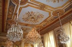 Ancien Garde-Meuble, actuellement ministère de la Marine ou Hôtel de la Marine - English: Interior of the Hôtel de la Marine on the Place de la Concorde in Paris, France.