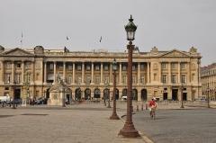 Hôtel Crillon - English: Hôtel Crillon one of the Paris Palace at 10 place de la Concorde, Paris France