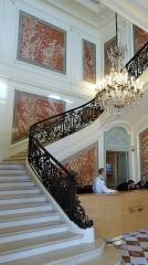Hôtel du Ministère de l'Intérieur - Français:   Hôtel Beauvau, escalier d\'honneur