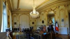 Hôtel du Ministère de l'Intérieur - Français:   Hôtel Beauvau, bureau du ministre