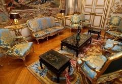 Palais de l'Elysée - Français:   Vue de salon des ambassadeurs sous la présidence Sarkosy.