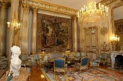 Palais de l'Elysée - Français:   Salon Pompadour sous la présidence Sarkozy.