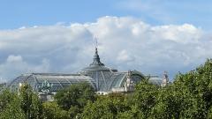 Grand Palais - Français:   Verrière du Grand Palais vue du 1er étage de l'Hôtel du Ministre des Affaires Étrangères (Quai d\'Orsay)