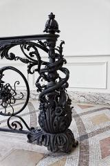 Petit Palais, actuellement musée des Beaux-Arts de la Ville de Paris -  Détail de l'intérieur du petit palais.