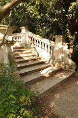 Parc Monceau - English: Bridge of the Parc Monceau in Paris 8th arrondissement, France.