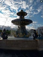 Place de la Concorde - Español: Fuente de la plaza de la Concordia (por Hittorff)