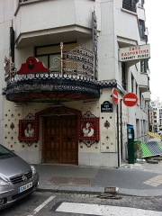 Immeuble, Cabaret-restaurant le Raspoutine - Français:   Cabaret-restaurant le Raspoutine