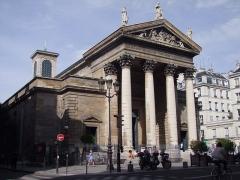 Eglise Notre-Dame-de-Lorette - Français:   Église Notre-Dame-de-Lorette, Paris (façade sud)