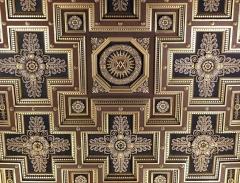 Eglise Notre-Dame-de-Lorette - Français:   Détail du plafond de la nef centrale de l\'église Notre-Dame-de-Lorette à Paris (75).