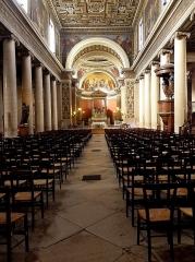 Eglise Notre-Dame-de-Lorette - Français:   Intérieur de l\'église Notre-Dame-de-Lorette à Paris (75009).