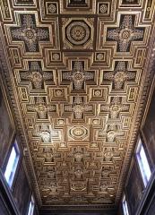 Eglise Notre-Dame-de-Lorette - Français:   Plafond de la nef centrale de l\'église Notre-Dame-de-Lorette à Paris (75).