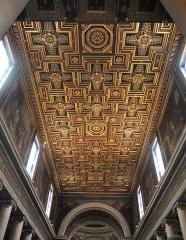 Eglise Notre-Dame-de-Lorette - Français:   Paris - Eglise Notre Dame de Lorette, plafond