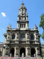 Eglise de la Trinité - Español: Iglesia de La Santísima Trinidad - Paris
