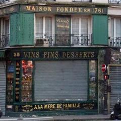 Epicerie fine A la mère de famille -  A la Mère de Famille, rue du Faubourg-Montmartre 35