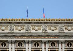 Théâtre national de l'Opéra, dit opéra Garnier - Deutsch: Opéra Garnier, Fassadendetail, Paris