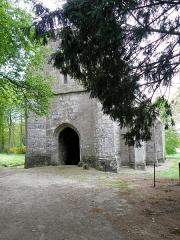 Chapelle Notre-Dame-de-Pitié - Français:   Chapelle Notre-Dame-de-Pitié de Boqueho (22). Façade occidentale.