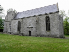 Chapelle Notre-Dame-de-Pitié - Français:   Chapelle Notre-Dame-de-Pitié de Boqueho (22). Vue méridionale.