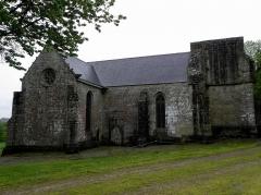 Chapelle Notre-Dame-de-Pitié - Français:   Chapelle Notre-Dame-de-Pitié de Boqueho (22). Vue septentrionale.