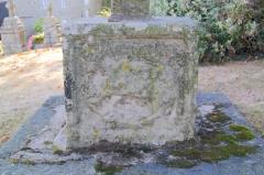 Croix de cimetière - Français:   Croix de cimetière,  (Inscription, 1926)