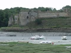 Restes du château du Guildo - Español: Castillo de Le Guildo