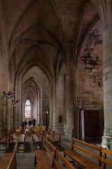 Eglise Saint-Malo - Français:  Bas-côté nord de l'église Saint-Malo de Dinan (France)