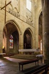 Eglise Saint-Malo - Français:  Chœur de l'église Saint-Malo de Dinan (France)