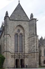 Eglise Saint-Malo - Français:   Dinan  Façade méridionale de l\'église Saint-Malo