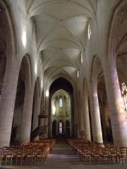 Eglise Saint-Malo - Français:   Nef de l\'église Saint-Malo de Dinan (22).