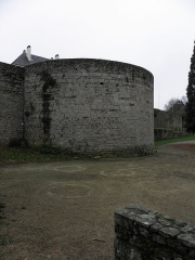 Remparts, tours et portes de la ville - Tour de Lesquen de l'enceinte médiévale de Dinan (22).