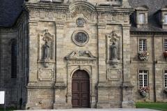 Ancien monastère des religieuses hospitalières, puis ancien hospice, actuel hôtel de ville -  Ancien monastère des religieuses hospitalières à Guingamp (22), actuel hôtelde-ville.