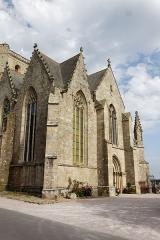 Eglise Notre-Dame - La collégiale Notre-Dame à Lamballe (Côtes d'Armor).