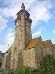 Eglise Saint-Jean - Français:   Clocher vu du sud-ouest