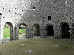 Ruines de la rotonde dite Temple de Lanleff - Français:   Rotonde du temple de Lanleff (22).