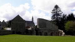 Ruines de la rotonde dite Temple de Lanleff - Temple de Lanleff (22).
