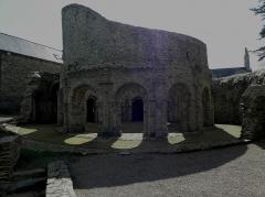 Ruines de la rotonde dite Temple de Lanleff - Français:   Temple de Lanleff (22).