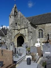 Eglise Saint-Loup - Français:   Église Saint-Loup de Lanloup (22). Porche sud.