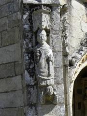 Eglise Saint-Loup - Français:   Église Saint-Loup de Lanloup (22).
