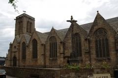 Eglise Saint-Jean-du-Baly - Français:   Extérieur de l\'église Saint-Jean-du-Baly de Lannion.