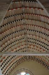 Eglise Saint-Jean-du-Baly - Français:   Église Saint-Jean-du-Baly de Lannion: voute lambrissée